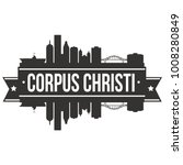 corpus christi texas usa... | Shutterstock .eps vector #1008280849