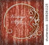 red grunge background | Shutterstock .eps vector #1008281125