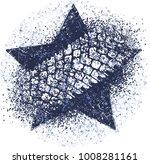 dark blue vector trail design... | Shutterstock .eps vector #1008281161