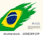 Stock vector brazil flag brazil flag vector illustration brazil flag vector icon brazil flag grunge vector 1008289159