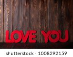 valentines day greeting card... | Shutterstock . vector #1008292159