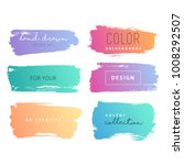 grunge hand drawn backgrounds... | Shutterstock .eps vector #1008292507