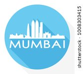 mumbai india asia flat icon... | Shutterstock .eps vector #1008303415