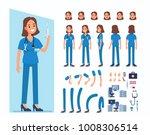 nurse woman character... | Shutterstock .eps vector #1008306514