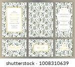 wedding invitations natural... | Shutterstock .eps vector #1008310639