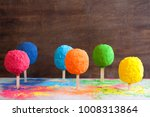 bright colours in shapes of... | Shutterstock . vector #1008313864