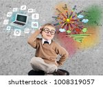 creative and analytical... | Shutterstock . vector #1008319057