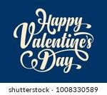happy valentines day.... | Shutterstock .eps vector #1008330589