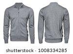 blank template mens grey...   Shutterstock . vector #1008334285