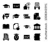 university icons. set of 16...   Shutterstock .eps vector #1008343591