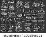 set of hand drawn doodles... | Shutterstock .eps vector #1008345121