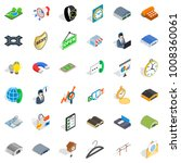 purchasing activity icons set.... | Shutterstock .eps vector #1008360061