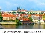 prague castle. the charles...   Shutterstock . vector #1008361555