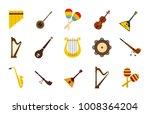 Musical Instrument Icon Set....