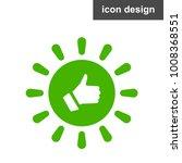 solar energy like icon   Shutterstock .eps vector #1008368551