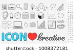 hand drawn icons  business... | Shutterstock .eps vector #1008372181
