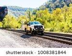 thurmond  usa   october 19 ... | Shutterstock . vector #1008381844