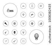 editable vector sky icons ... | Shutterstock .eps vector #1008382435