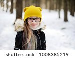 stylish pre teen girl 10 12... | Shutterstock . vector #1008385219
