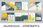 brochure creative design.... | Shutterstock .eps vector #1008386911