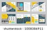 brochure creative design.... | Shutterstock .eps vector #1008386911