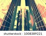 design element. 3d illustration.... | Shutterstock . vector #1008389221