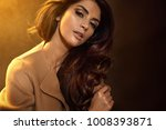 glamour style portrait of a... | Shutterstock . vector #1008393871