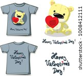 funny valentine shirt printing... | Shutterstock .eps vector #1008412111