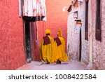 young tibetan monks in lhasa | Shutterstock . vector #1008422584