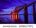forth bridge near edinburgh | Shutterstock . vector #1008427051