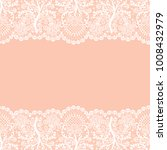 horizontally seamless orange...   Shutterstock .eps vector #1008432979