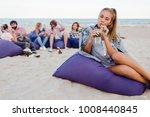 summer outdoor portrait  of ...   Shutterstock . vector #1008440845