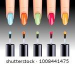 vector illustration of nail... | Shutterstock .eps vector #1008441475