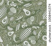 cartoon hand drawn latin... | Shutterstock .eps vector #1008441574
