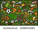 vector hand drawn doodles... | Shutterstock .eps vector #1008442081