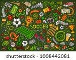 vector hand drawn doodles... | Shutterstock .eps vector #1008442081