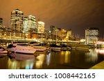 view of puerto madero dock in... | Shutterstock . vector #1008442165