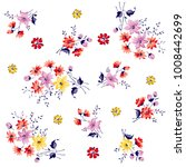 bunch of flowers pattern for... | Shutterstock .eps vector #1008442699