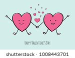 cute hand drawn card with...   Shutterstock .eps vector #1008443701
