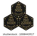 integrated management system ... | Shutterstock . vector #1008443917