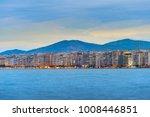 skyline of thessaloniki at... | Shutterstock . vector #1008446851