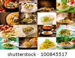 collage of various photo of... | Shutterstock . vector #100845517