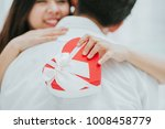 happy beautiful young asian... | Shutterstock . vector #1008458779