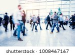 crowd of blurred people | Shutterstock . vector #1008467167