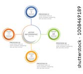 circle infographic template...   Shutterstock .eps vector #1008469189