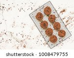 sweet dessert with chocolate...   Shutterstock . vector #1008479755