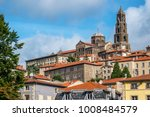 le puy cathedral  a roman... | Shutterstock . vector #1008484579