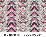 indian embroidery. geometric... | Shutterstock .eps vector #1008491269