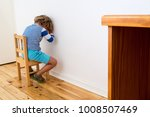child in trouble.  a young boy...   Shutterstock . vector #1008507469