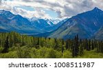 scenery along the parks highway ... | Shutterstock . vector #1008511987
